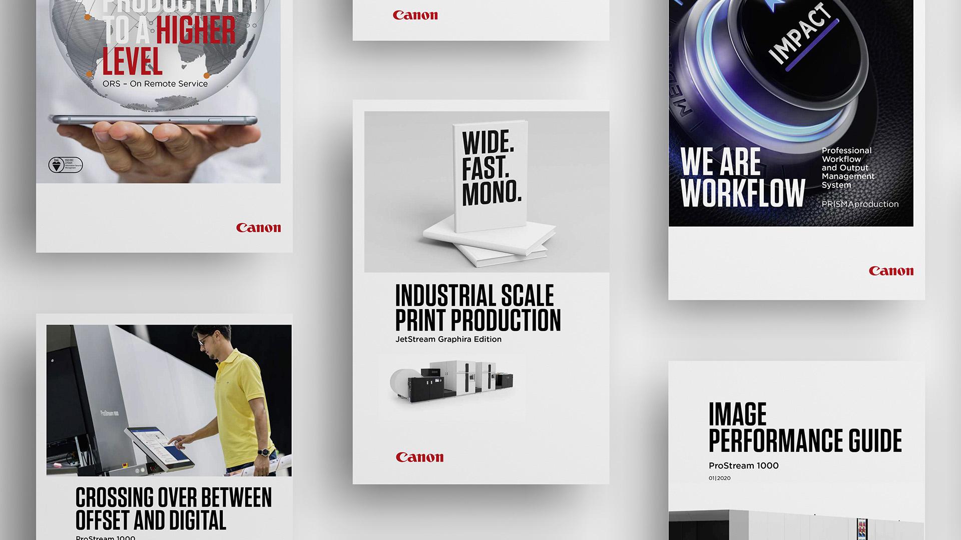 Canon Rebranding Medien