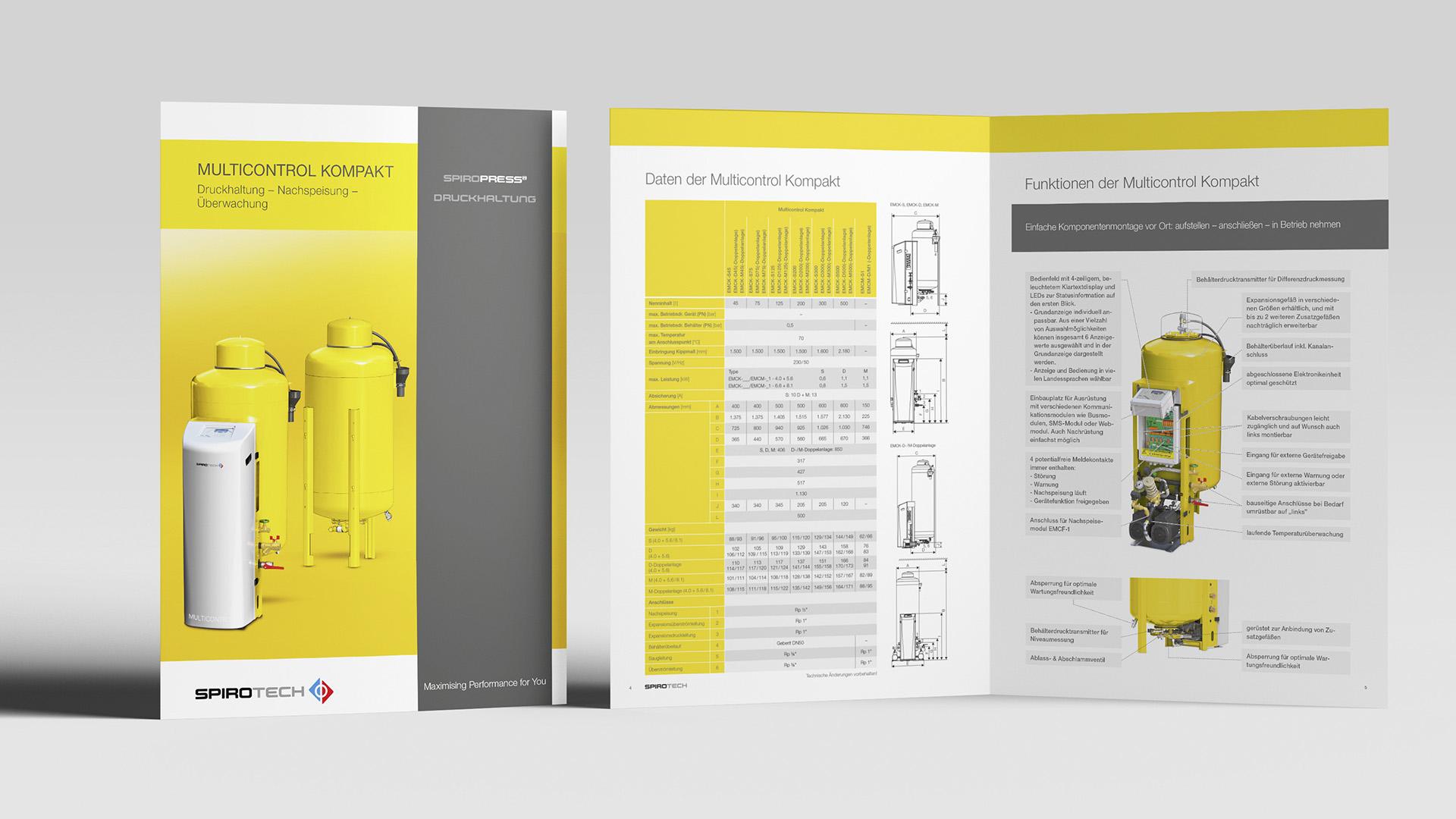Spirotech Broschüre