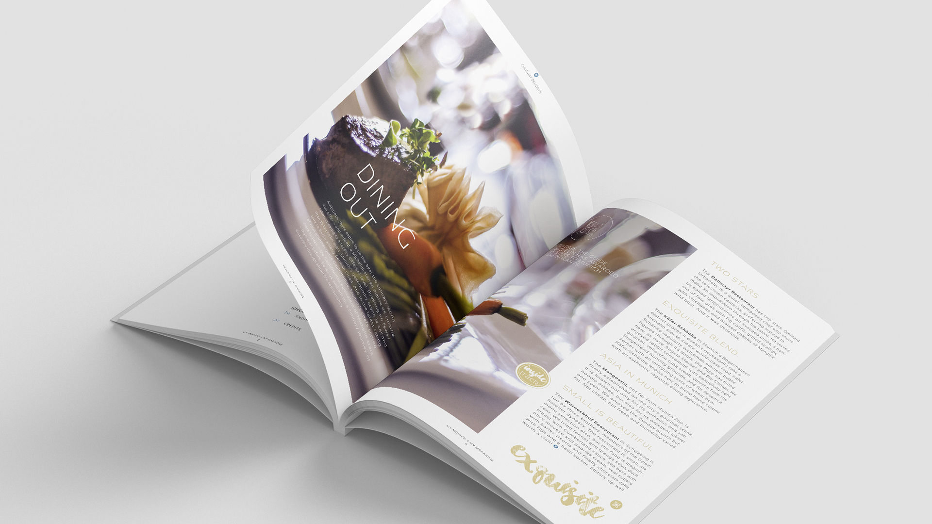 Saleskit Océ Canon Magazin Inhalt
