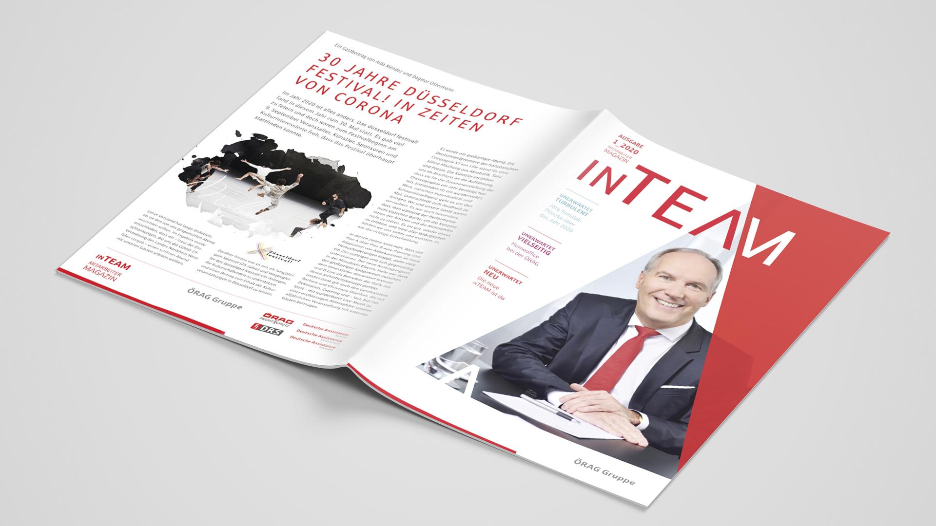 Corporate Publishing – Das neue Mitarbeitermagazin der ÖRAG Gruppe