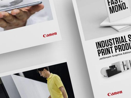 Canon – Rebranding aller Medien für die Canon Production Printing GmbH