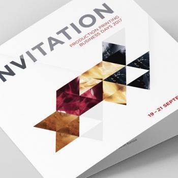 Océ Canon Eventkommunikation Invitation