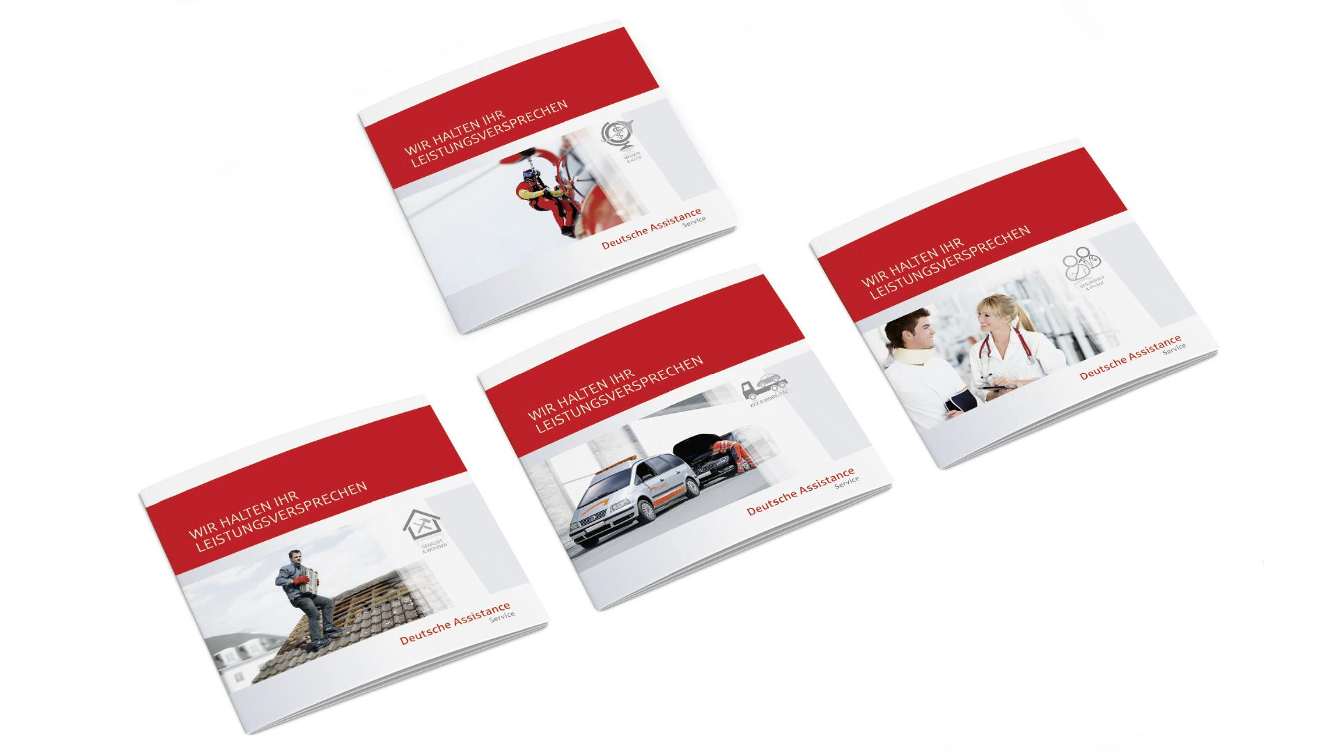 Deutsche Assistance Segmentbroschüren 4