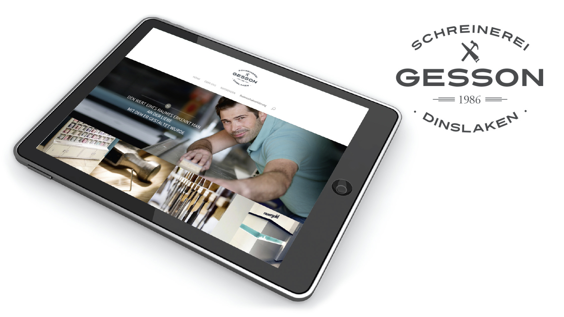 Website Gesson UI-Design