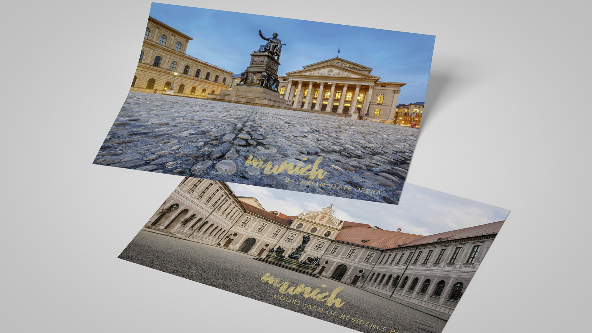Saleskit Océ Canon Postkarten