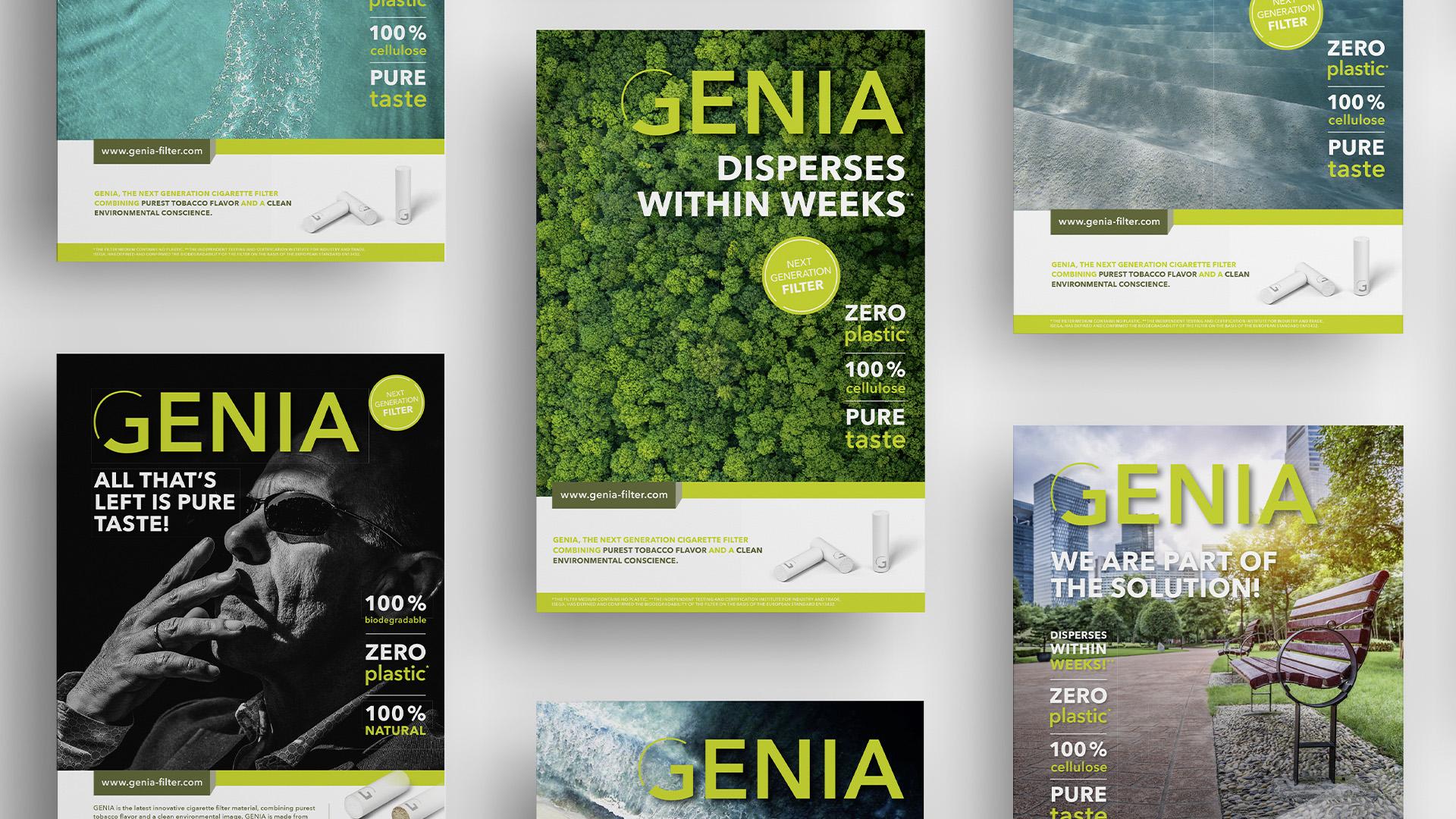 Genia Filter Anzeigen