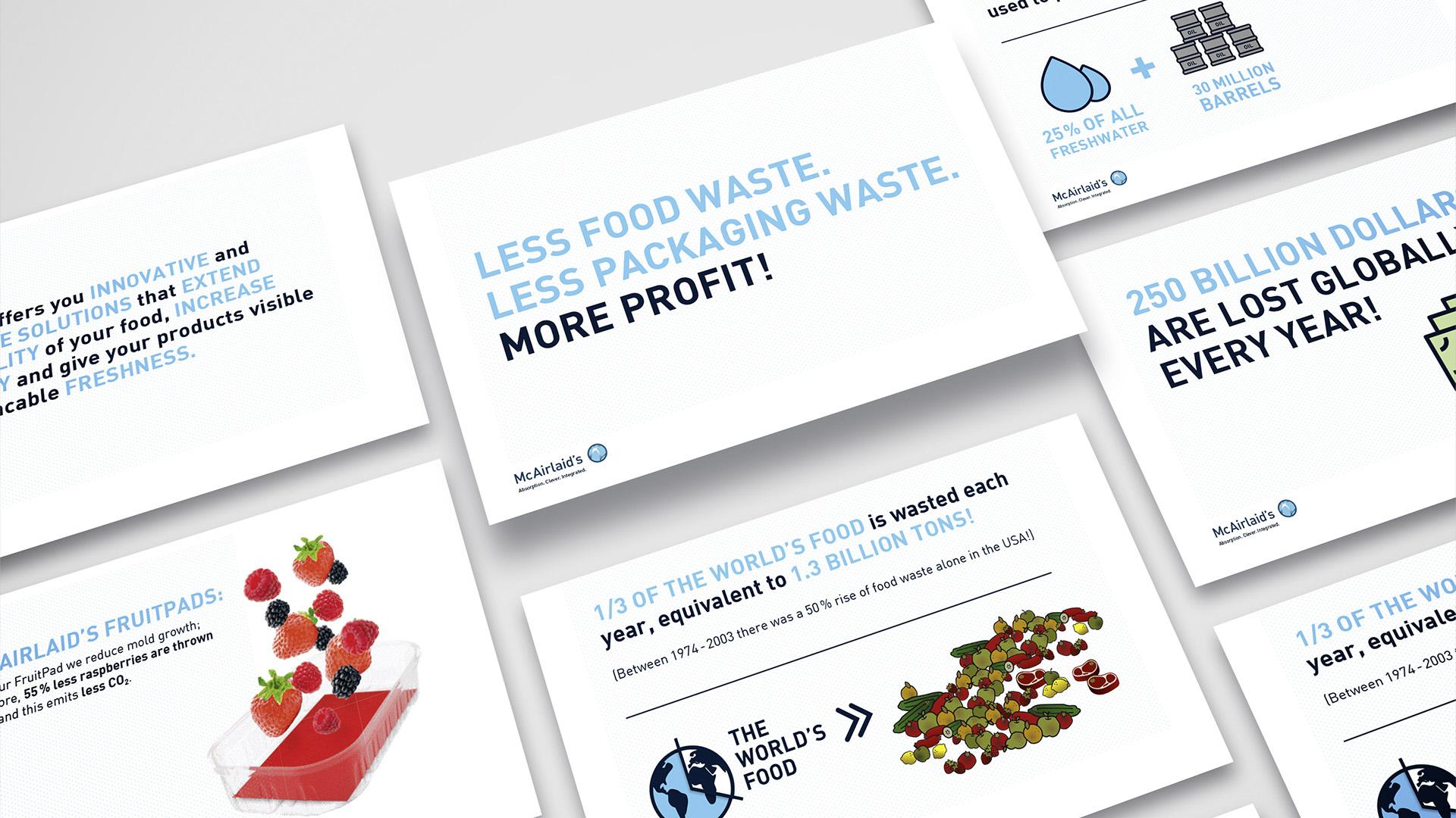McAirlaids Foodwaste Präsentation