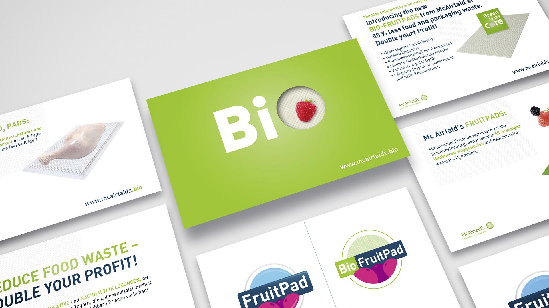 McAirlaid`s Bio Produktlinie