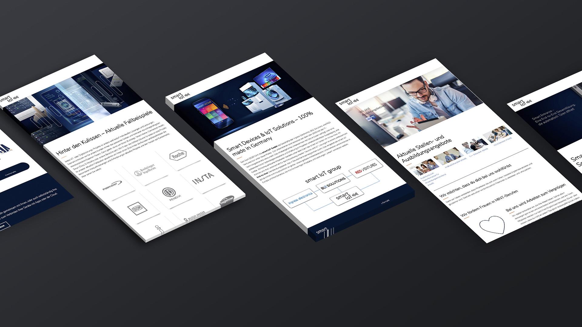 Userinterfaces smart IoT