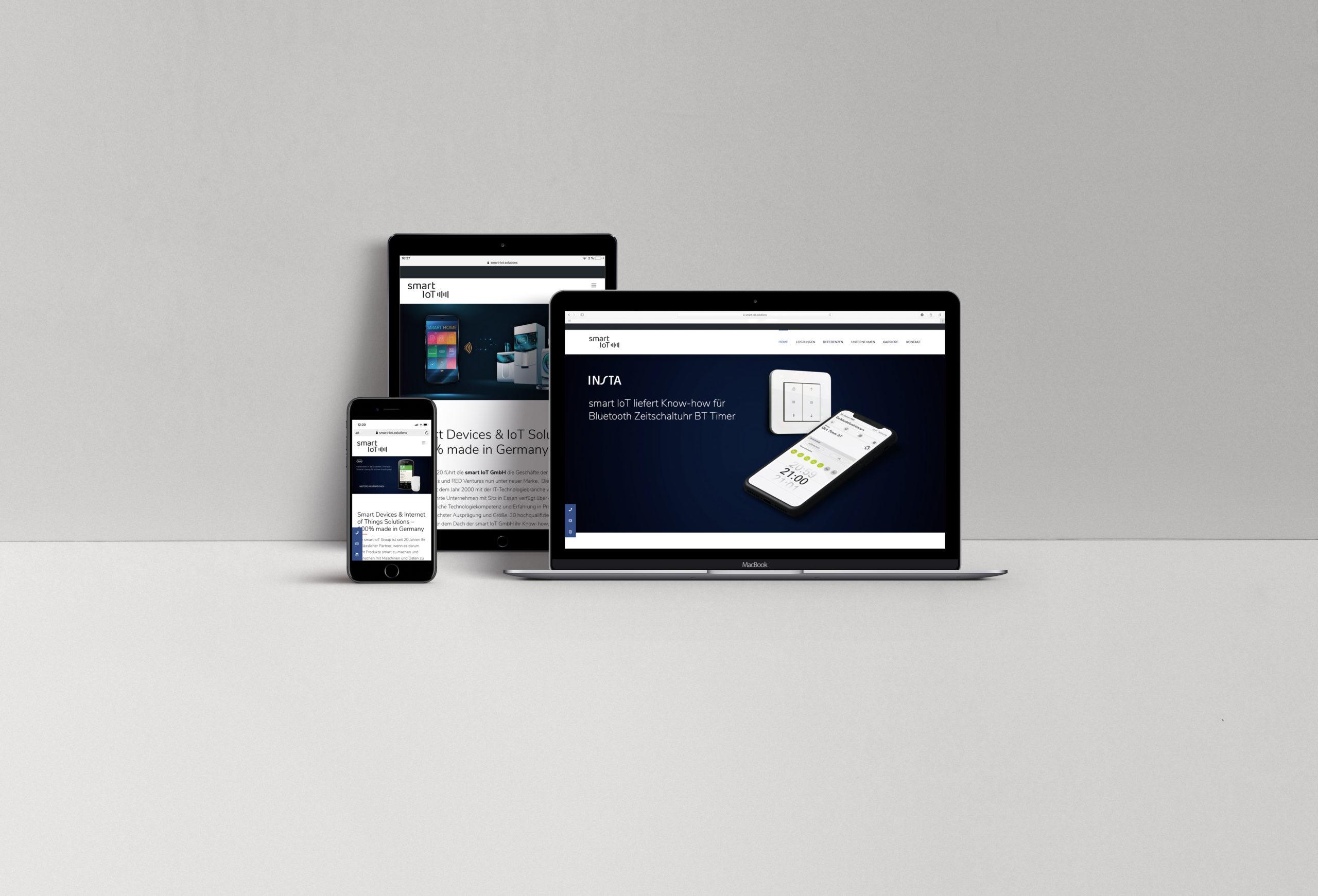 UI/UX Designs smart IoT