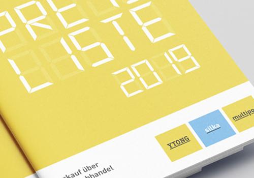 Xella Deutschland GmbH – Entwicklung, Design und Umsetzung der Produktkommunikation für D/A/CH
